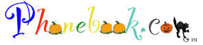 Phone book Halloween Logo